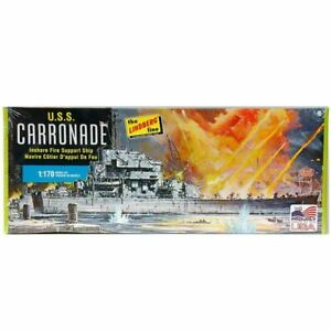 Lindberg 1/170 U.S.S. Carronade Inshore Fire Support Ship Kit (New)