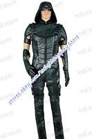 Arrow Season 4 Green Arrow Oliver Queen Cosplay Costume Fashionable Halloween