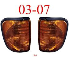 03 07 Ford Econoline Side Parking Light Set, E150, E250 E350, Both Left & Right