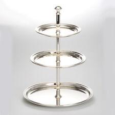 Silber Etagere 30 cm 3 Ebenen Vorlegeschale Etageren Hochzeit Konfektschale