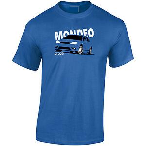 Lumipix Ford Mondeo ST220 Mens Car T-Shirt