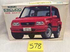 Fujimi ID-72 Suzuki Escudo Hardtop 1/24 Scale Kit BRAND NEW IN OPEN BOX!  #578