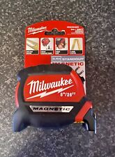 Milwaukee Premium Gen 2 Magnetic Tape Metric/imperial 8m/26ft - 4932464603