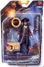 "Pirates of the Caribbean: 'Captain Barbossa' 3.75"" Action Figure 2011 Series 2"