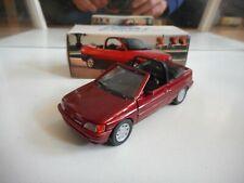 Schabak Escort Cabriolet in Red on 1:43 in Box