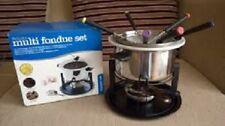 New Kitchen Craft Deluxe Multi Fondue Set 2 x Bowls KCFON3IN1
