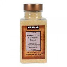 Kirkland Signature Granulated California Garlic 510g Product of USA