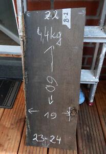 B2 Mooreiche 60x24 Bohle Brett Bog Oak Altholz Drechselholz Kantel Schnittholz
