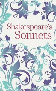 William Shakespeare's Sonnets Paperback Book