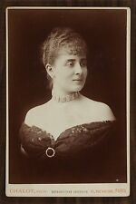 Jeanne Demarsy ou Marie Louise Marsy (?), Actrice de théâtre, Photo Cabinet card
