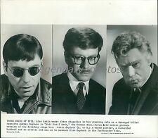 1967 Alan Arkin as Plotter, Husband and Old Man Original News Service Photo