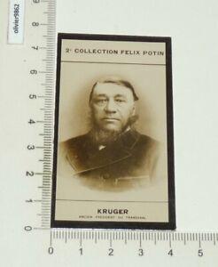 PHOTO IMAGE FELIX POTIN 2e ALBUM 1908 KRUGER PRESIDENT TRANSVAAL GUERRE BOERS