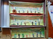 Lang Craft  HO Train Figures 3 boxes all NIB Made in Japan Vintage
