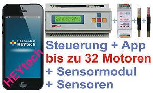 RS879M +APP +Sensor Rollladensteuerung Rolladensteuerung Haussteuerung Heytech