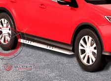 Schwellerrohre / Flankenschutzrohre / Trittbretter für Toyota RAV4 ab 2013