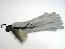 NOW HALF PRICE! - NEW CASHMERE & ANGORA - GREY MARL GLOVES - 30,000+ F/BACK!