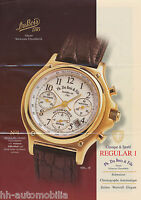 3001DUB Du Bois Regular 1 Prospekt 2002 Uhr brochure watches Chronograph