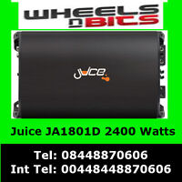 2400 Watt Class D Juice Ja1801D Car Amp Amplifier for Sub Subwoofer