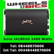 2400 Watt Class D Juice Ja1801D Car Amp Amplifier for Sub Subwoofer