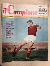 IL CAMPIONE RIVISTA DI SPORT E VARIETA' ANNO 2° N° 47  DEL 1956 GUNNAR NORDHAL