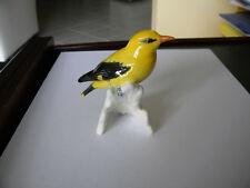Goebel Golden Oriole bird handpainted porcelain figurine, W Germany