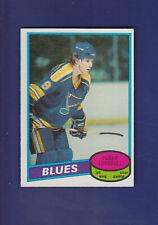 Perry Turnbull RC 1980-81 O-PEE-CHEE OPC Hockey #169 (NM) St. Louis Blues