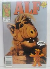 Alf #1 1st Comic Book App Alf Newsstand Edition