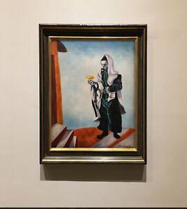 Marc Chagall painting  - Rabbi painting, Jewish art