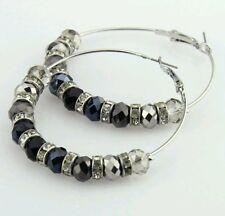 Stunning Boho style chandelier hoop earrings