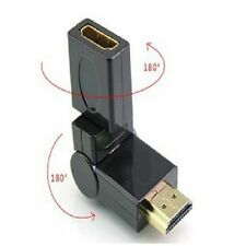 360 Degree Swivel HDMI V1.4 Male to Female Adapter Connector Joiner Extender sx