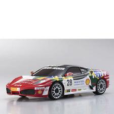 Mini-Z Karosserie 1:24 MR-03 Ferrari F430 n° 28 Kyosho MZP-312-BS # 706472
