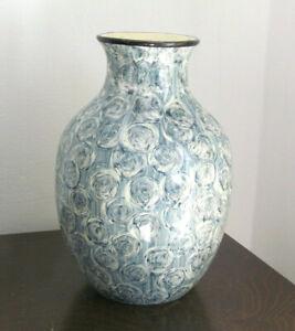 Klassische Keramikvase Blumenvase aufwendiges Dekor Jugendstil ?