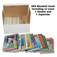 MASSIVE LOT OF 300 Baseball Card Collection Fleer Topps STARTER SET Upper Deck