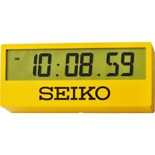 Seiko Digital Desk Clock - QHL073Y NEW