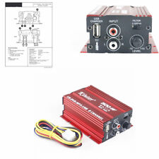 500W Mini Hi-Fi Stereo Audio Amplifier Amp Subwoofer For 2 Ch Car Motorcycle