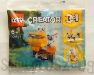 LEGO 30571 Creator 3 in 1 Pelican Polybag NEU