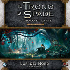 Il Trono di Spade Gioco di Carte - Deluxe Lupi del Nord - Espansione LCG AGOT