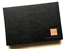 Black Faux Leather Photo Album 4 x 6inch (10 x 15cm) Photos 36 Photo Capacity