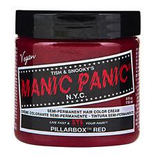 Manic Panic Classic Hair Dye Color Pillarbox Red Vegan 118ml Manic-Panic