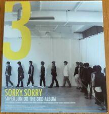 Sorry, Sorry Super Junior The 3rd Album