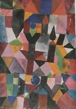 """Expressionism Art Reproduction, Paul Klee, """"Invention"""" Year 1917"""