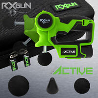 RxGUN ACTIVE Percussion 3 Tips Massage Gun Handheld Body Massager Muscle Therapy