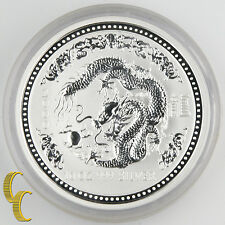 2000 Australia Lunar Year of the Dragon (Series I) BU 10 oz Silver KM#524