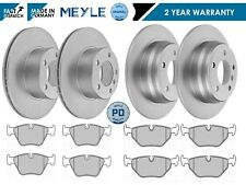 FOR BMW 5 SERIES 520i 525i E39 1996-2003 MEYLE FRONT REAR BRAKE PADS DISCS