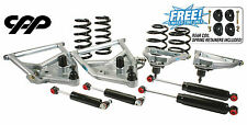 "63 70 CHEVY C10 TUBULAR CONTROL ARMS w/ 3"" FRONT 5"" REAR DROP COIL SPRING KIT"
