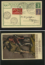 Switzerland  C3  on post card with special   airmail cancel  1928      KEL0416