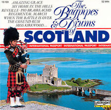 Bagpipes & Drums of Scotland, Various Artists