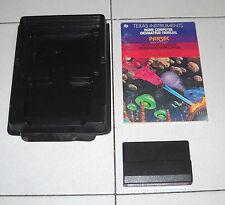 Gioco TEXAS INSTRUMENTS Home computer PARSEC - 1983 Arcade