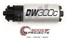 DeatschWerks 340lph DW300C Fuel Pump w/ Setup Kit for GTO / GTR / LGT / WRX STi