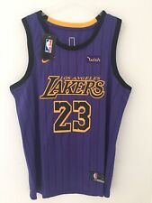 Maillot City Los Angeles Lakers LeBron James Taille 50 (L) NBA